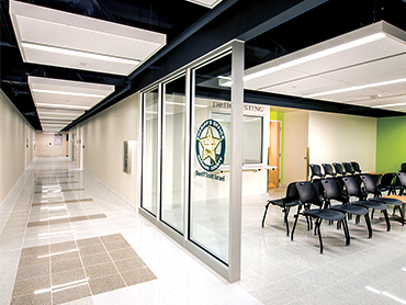 BCJC office interiors - by Russell and Dawson Inc