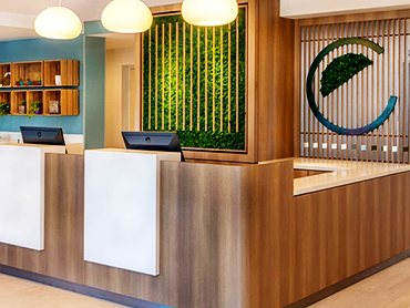 Reception Design_Element Hotel_Hospitality Design and Architecture Design Services in Massachusettes_by Russell and Dawson