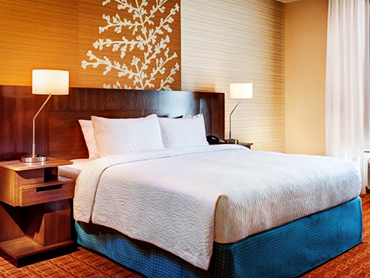 Guest Room Interior Design_Fairfield Inn and Suites, Hyannis, MA_by Russell and Dawson