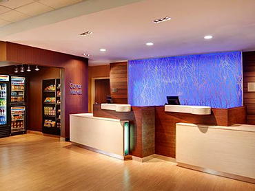 Reception Design_Fairfield Inn and Suites, Hyannis, MA_by Russell and Dawson