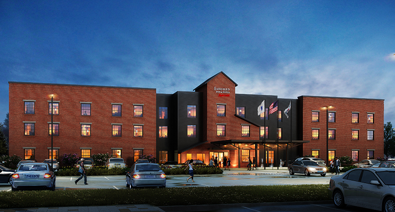 Fairfield Inn & Suites, Williamstown, MA_Design Build Project by Russell and Dawson