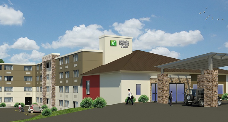 Holiday Inn Express, Waterville, ME