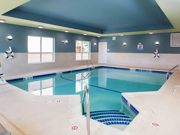 Swimming Pool Design_Holiday Inn Express_Hotel Design Services in Massachusettes_by Russell and Dawson