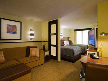 Guest Room_Hyatt Place, Milford, CT_Full Architecture and Engineering Design Services_by Russell and Dawson