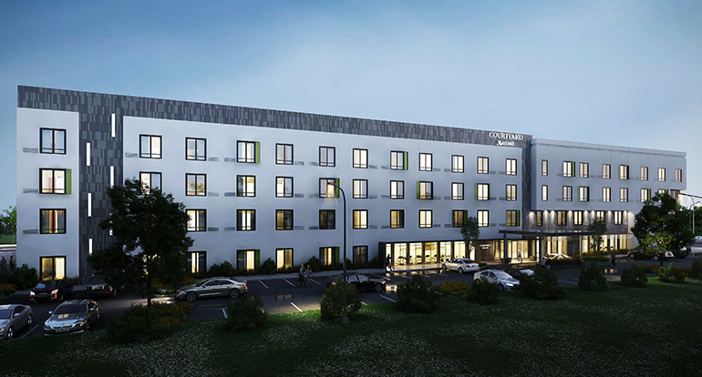 Courtyard by Marriott_W.Springfield_MA_Architecture Engineering_by Russell and Dawson