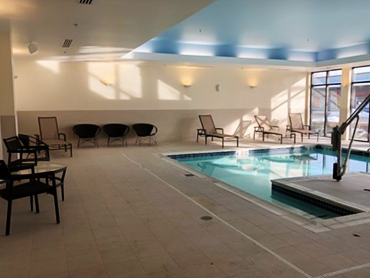 Swimming pool design at Courtyard by Marriott_MA_by Russell and Dawson