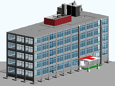 Boston-Hotel-Architectural-Modeling-Services-by Russell and Dawson
