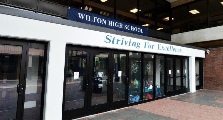 Architecture Design Services for Wilton High School by Russell and Dawson