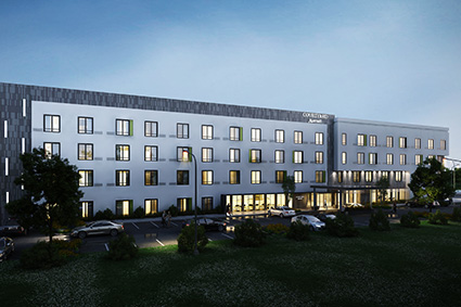 Courtyard Mariott Design Build_ by Russell and Dawson