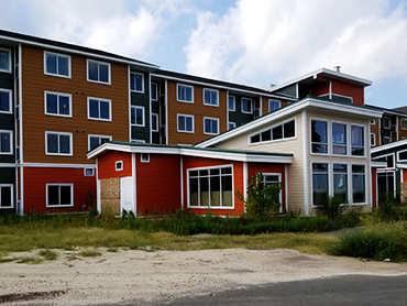 Exterior Building Design by Russell and Dawson for Residence Inn by marriott