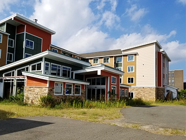 Exterior Residence Inn_ Design by Russell and Dawson