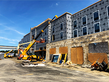Hampton Inn_Construction Administration by Russell and Dawson