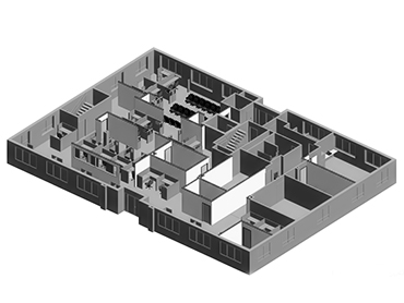 Social Security Administration Floor Plan_by Russell and Dawson